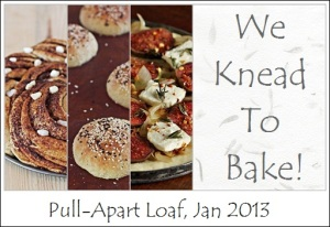 We Knead To Bake Logo January 2013